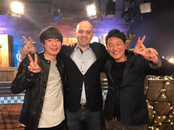 Najib on Abema TV with Jun Hori - Daisuke Muramoto